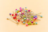 Colored pins — Stock Photo