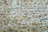 Gray stone wall — Stock Photo