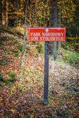Stolowe Mountains National Park — Stock Photo