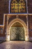 St. Mary Basilica, Krakow — Stock Photo