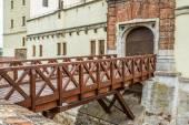 Bridge of Spilberk Castle in Brno — Stock Photo