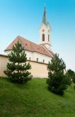 Kostel of St. Michael Archangel, Svabenice — Stock Photo