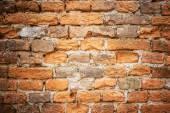 Old yellow brickwork — Stock Photo
