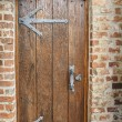Door in an ancient fortress — Stock Photo #67421157