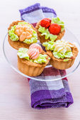 Cakes decorated — Stock Photo