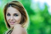 Beautiful smiling young woman — Foto de Stock
