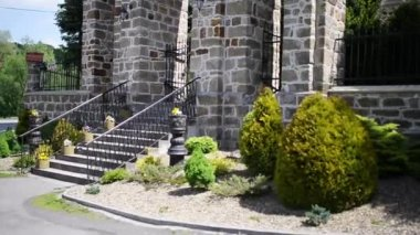 Parish of Saint Nicholas in Polomi — Stock Video