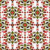 Floral damask seamless pattern background — Stock Photo