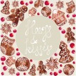 Gingerbread Christmas Cookies — Stock Photo #59226429