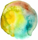Vector watercolor spot — Stock Vector