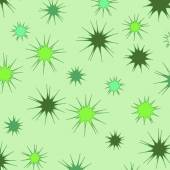 Spiny green background — Stock Vector