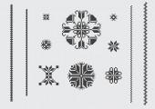 Pixel pattern — Stock Vector