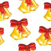 Christmas pattern. watercolor — Foto Stock