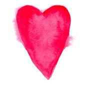 Watercolor heart — Stock Vector