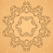 Decorative floral elements. — Stock Vector