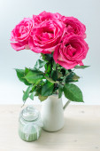 Bouquet of pink roses. — Stock Photo