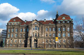 Saxon State Chancellery buildings in Dresden — Stock Photo