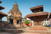Vishnu temple on Patan Durbar Square — ストック写真