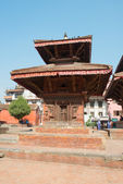 Temple on Patan Durbar Square — Stock Photo