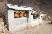 Mukthinath Temple on a Annapurna Circuit — Stock Photo