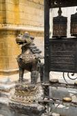 Monkey Temple - ancient religious complex — Stock Photo