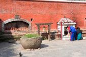 Baglamukhi temple near Patan Durbar Square — Stock Photo