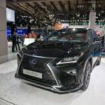 ������, ������: Lexus RX 450H European premiere