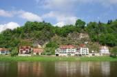 Little town Rathen — Foto de Stock