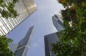Skyskrapor — Stockfoto