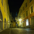 Old Tallinn in the night — Stock Photo #61039835