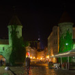Old Tallinn in the night — Stock Photo #61062183