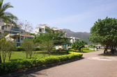 Apartment blocks in Lantau Island — Stock Photo