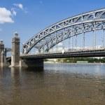 Peter the Great Bridge — Stock Photo #73233793