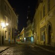 Old Tallinn in the night — Stock Photo #73286989