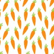Seamless Pattern with Ripe Carrots — Stock Vector #78055680