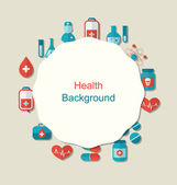 Health Background — Stock Vector