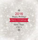 Veselé Vánoce vinobraní Retro typografie písmo — Stock vektor