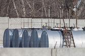 Reservoirs voor brandstof — Stockfoto