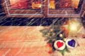 Christmas magic moments — Stock Photo