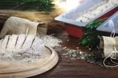 Healthy homemade whole grain bread — Stock Photo