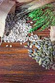 Healthy grains — Stock Photo