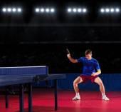 Giocatore di tennis da tavolo — Foto Stock