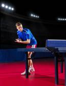 Table tennis player — Stock Photo