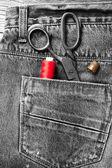 Garment accessories — Stock Photo