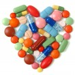Heart pills — Stock Photo #55988769