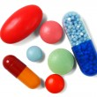Closeup of pills — Stock Photo #57163581