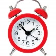 Red alarm clock — Stock Photo #68169269