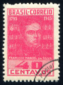 Francisco Manoel da Silva — 图库照片