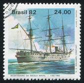 Brazil ship — Stock Photo