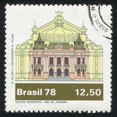 Municipal Theater, Rio de Janeiro — Stock Photo